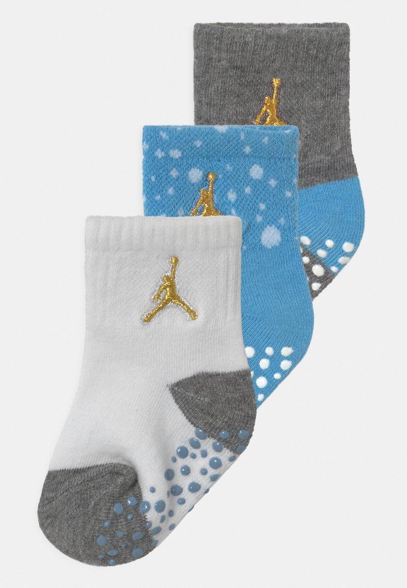 Jordan - CEMENT GRIP 3 PACK UNISEX - Sports socks - university blue