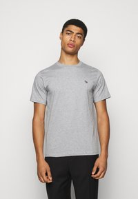 PS Paul Smith - MENS REG FIT ZEBRA - Basic T-shirt - grey - 0