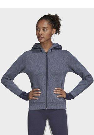 MUST HAVES VERSATILITY - Zip-up hoodie - silver