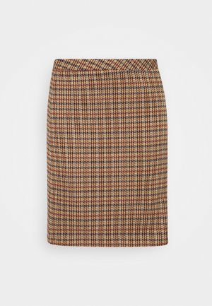 SKIRT SHORT - Mini skirt - soft caramel