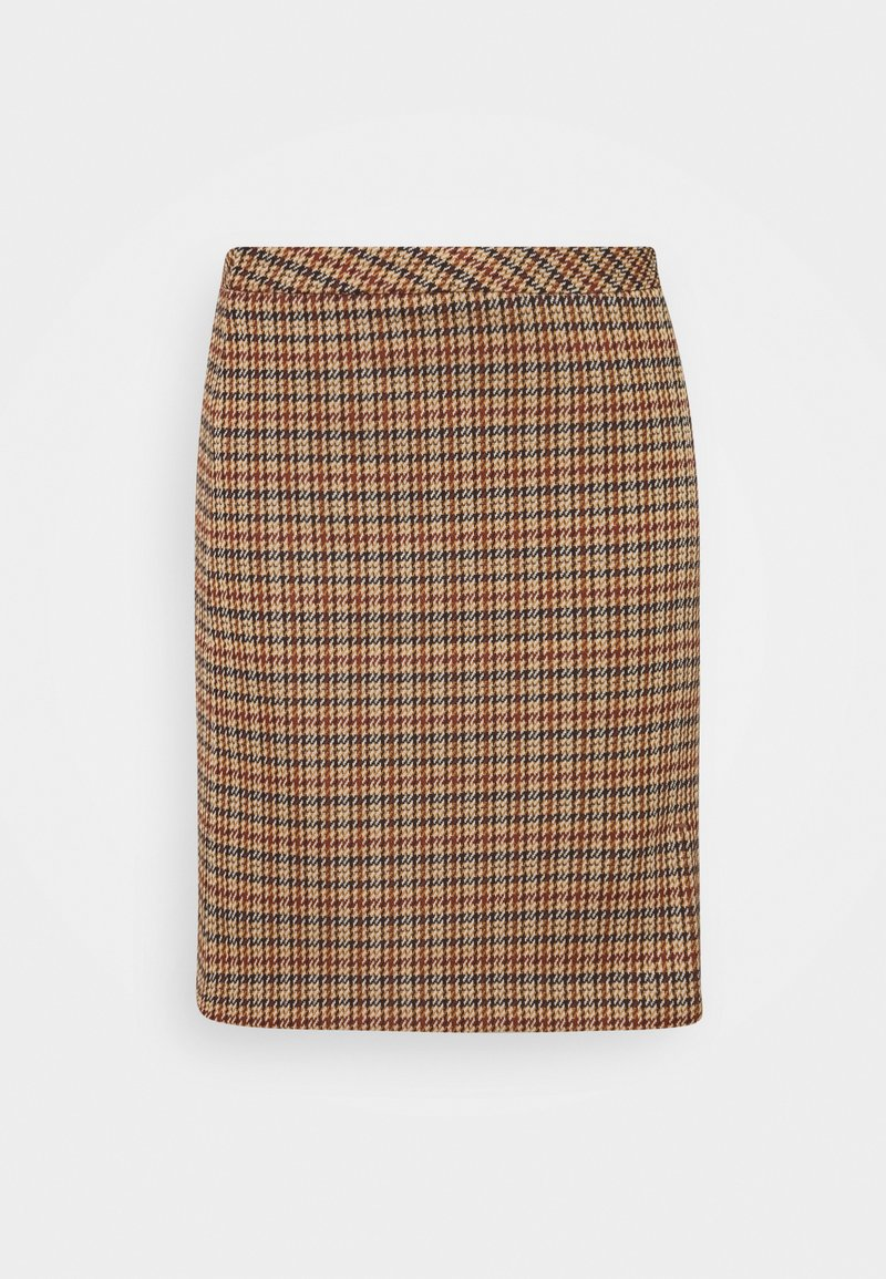 More & More - SKIRT SHORT - Mini skirt - soft caramel