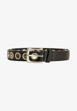 MIT EYELETS - Belt - black