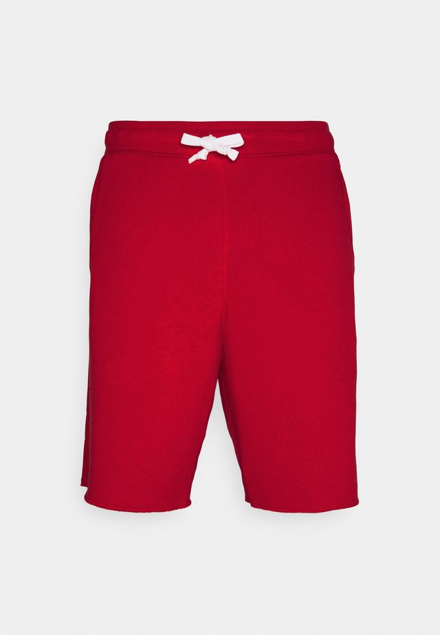ALUMNI - Tracksuit bottoms - university red/white/midnight navy