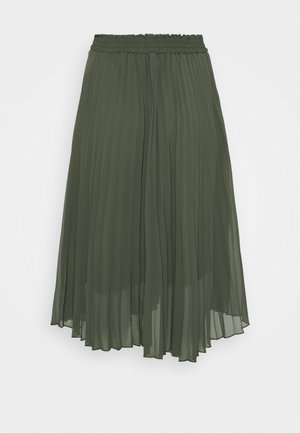 CARNEWSARAH CALF SKIRT - A-Linien-Rock - forest night