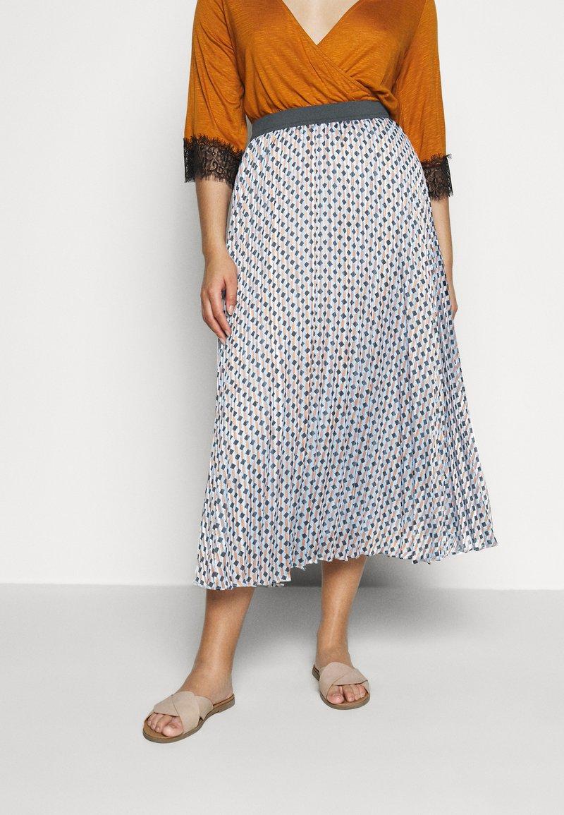 Persona by Marina Rinaldi - CAIRO - A-line skirt - turquoise