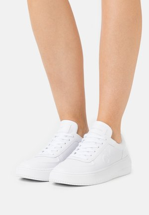 CHUNKY SOLE LACEUP OXFORD  - Sneakers basse - bright white