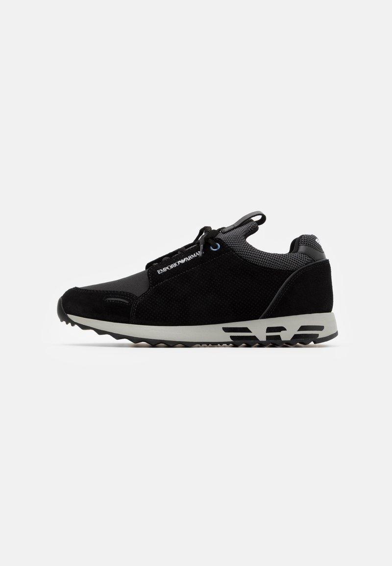 Emporio Armani - Sneakers laag - black/grey