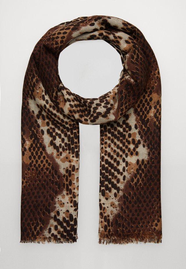 RUSSEL SCARF - Huivi - brownish