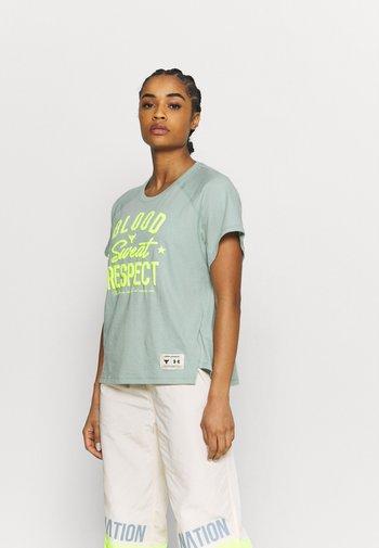 ROCK  - T-shirt imprimé - fisher green