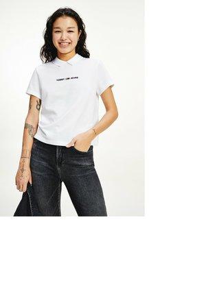 LINEAR LOGO  - Polo shirt - white