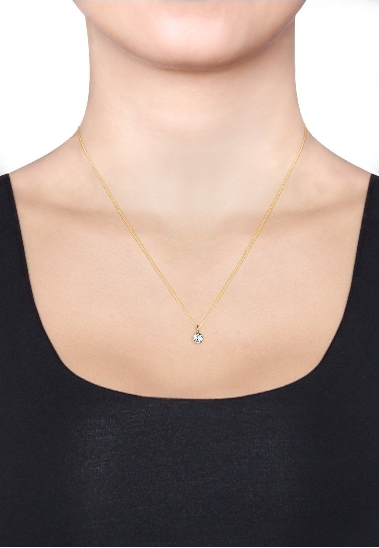 Elli - BASIC SOLITÄR - Necklace - gold-coloured