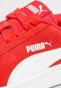 Puma - SMASH - Trainers - high risk red/white - 5