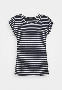 TEE - Print T-shirt - navy