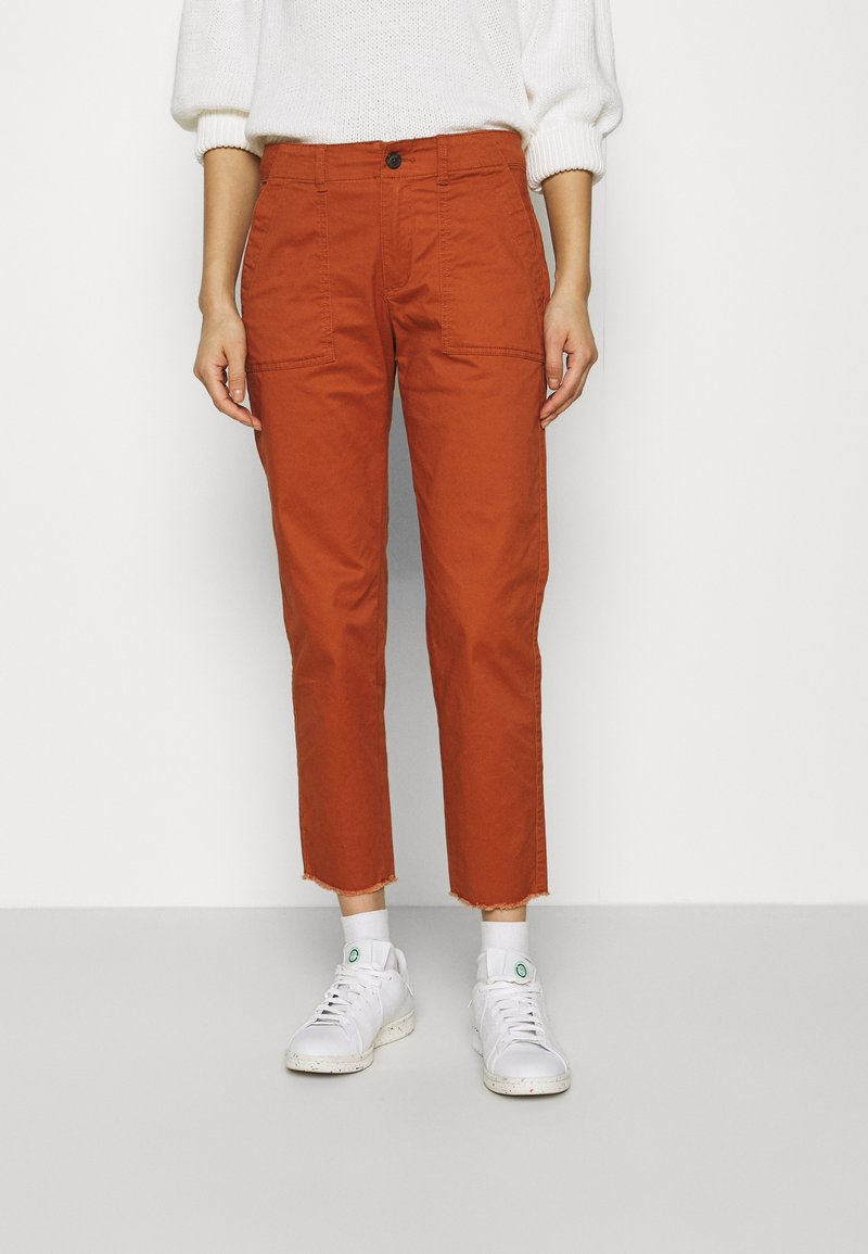 GAP - GIRLFRIEND UTILITY  - Pantaloni - rusty