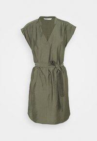 ONLY - ONLJOSEY V NECK DRESS - Vestido informal - kalamata - 4
