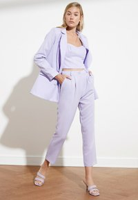 Trendyol - PARENT - Pantalones - purple - 4