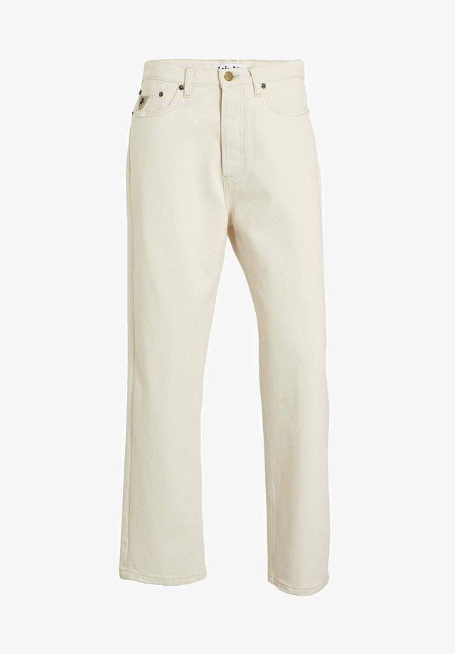 Jeans straight leg - omaha ecru
