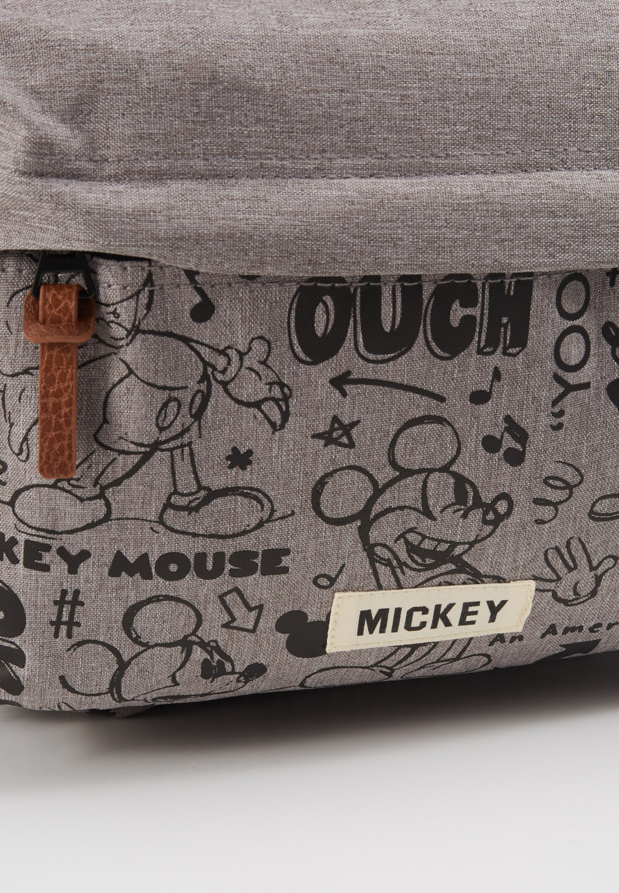 Kidzroom BACKPACK MICKEY MOUSE REPEAT AFTER ME - Ryggsekk - grey/grå ukykI4coffvfHsV