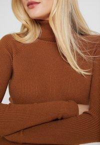 Anna Field - Stickad tröja - caramel cafe - 5