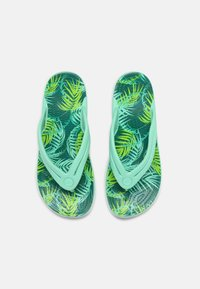 Crocs - TROPICAL - Pool shoes - white/multi - 4