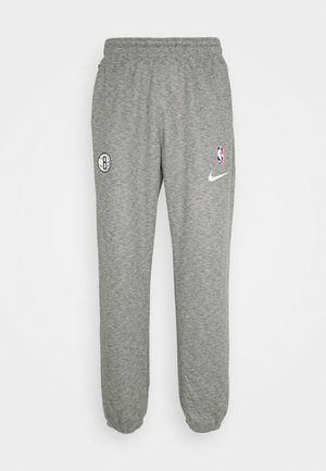 NBA BROOKLYN SPORTLIGHT PANT - Klubtrøjer - grey heather/dark steel grey/black