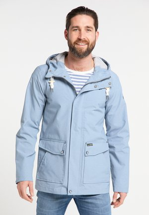 Waterproof jacket - blue denim