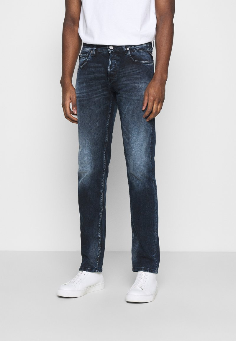 Replay - GROVER BIO - Straight leg jeans - dark blue