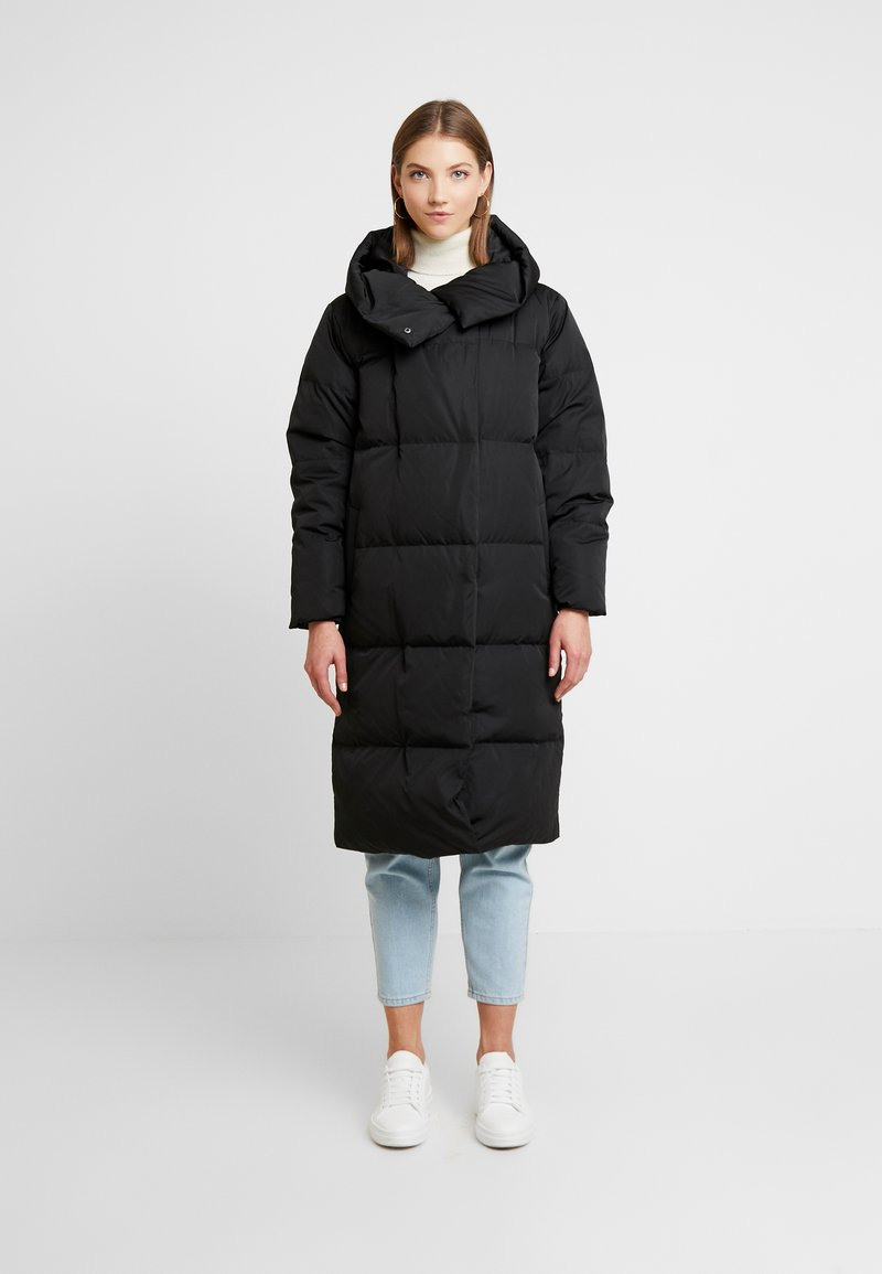 Object - OBJLOUISE  - Down coat - black