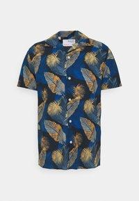 SLHREGJOEL CAMP - Shirt - dark blue