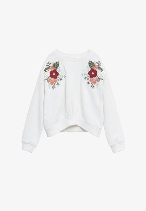 FLORI - Sweater - bianco sporco