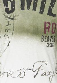 Key Largo - Print T-shirt - khaki - 5