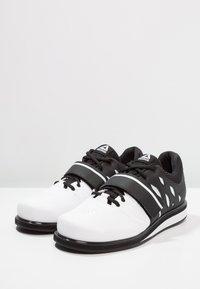 Reebok - LIFTER PR TRAINING SHOES - Sports shoes - white/black - 2