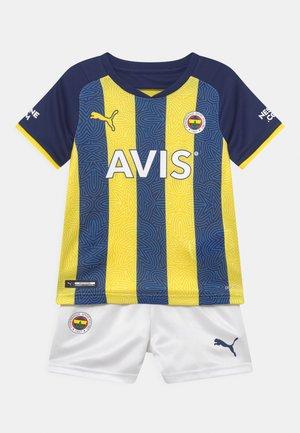 FENERBAHÇE ISTANBUL HOME MINI SET UNISEX - Club wear - blazing yellow/medieval blue