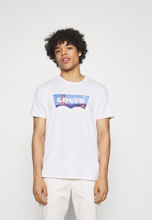 HOUSEMARK GRAPHIC TEE UNISEX - T-shirts med print - fill white