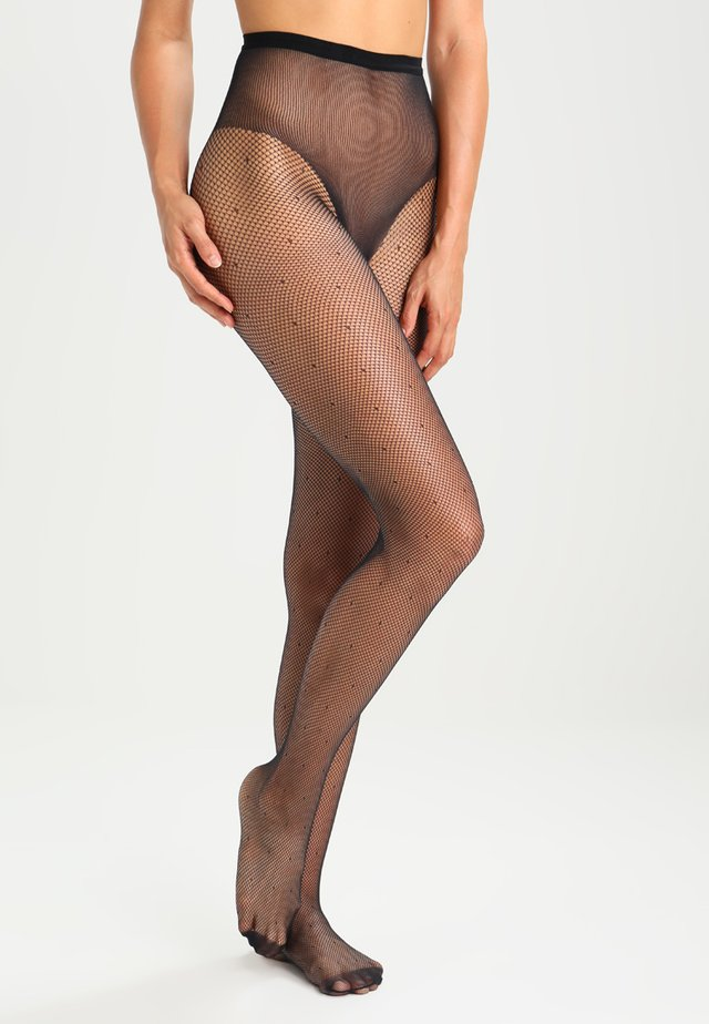 65 DEN COLLANT SEXY SILLE PLUMETIS - Collants -  noir