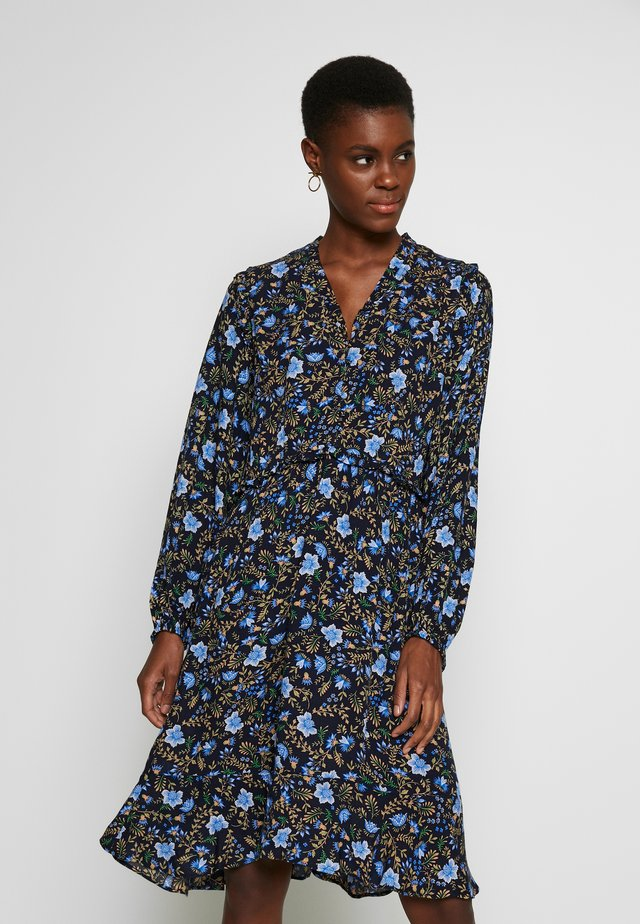 YASTHISTLE  DRESS  - Robe d'été - navy blazer/thistle aop