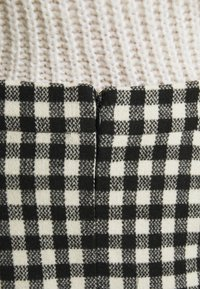2nd Day - CHARITON CHECK - Mini skirt - black - 5