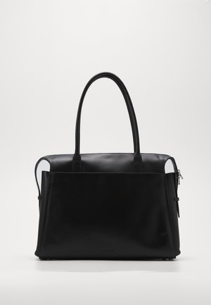 CROWN DAY BAG - Tote bag - black