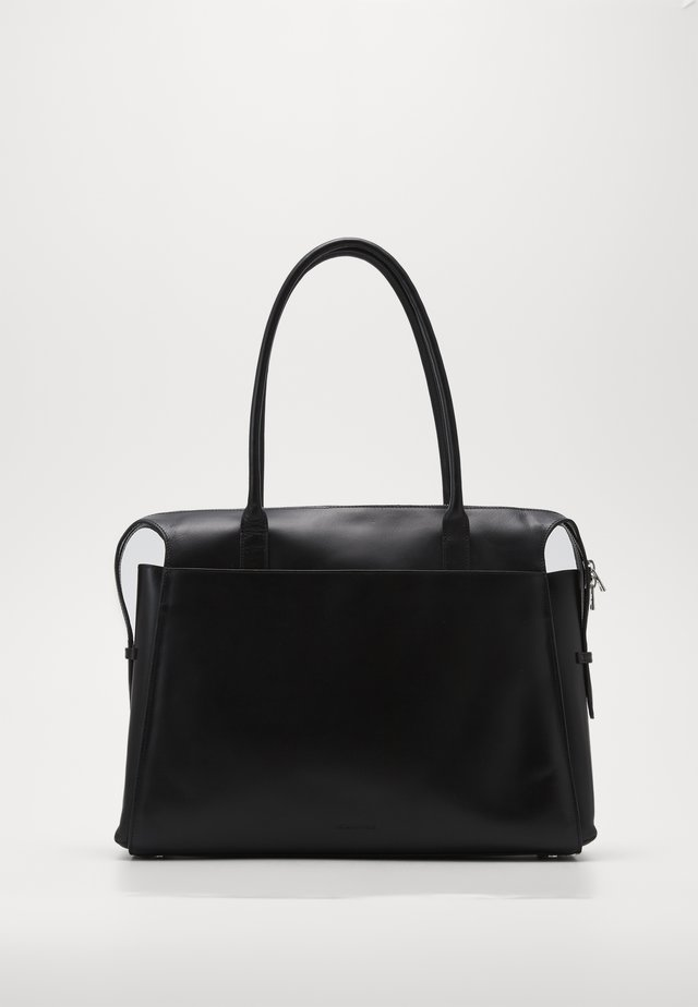 CROWN DAY BAG - Torba na zakupy - black