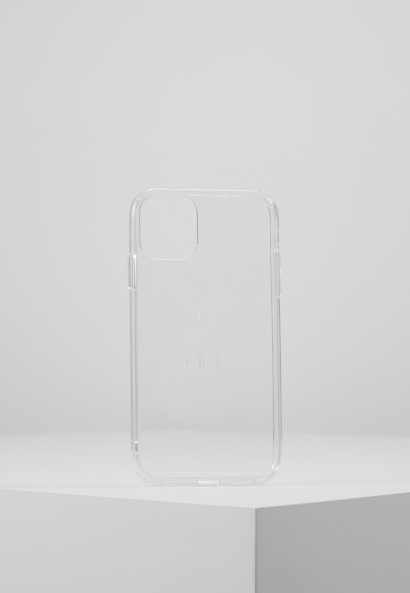 adidas Originals - ADIDAS OR PROTECTIVE CLEAR CASE BIG LOGO FOR iPhone 11 - Obal na telefon - clear