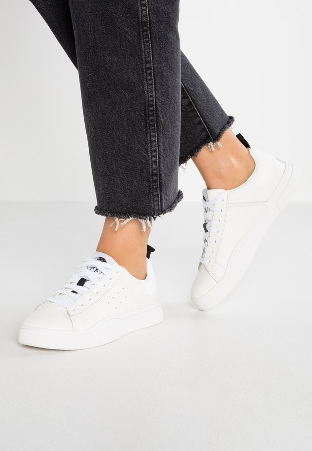 CLEVER S-CLEVER LOW W - Sneakers basse - white