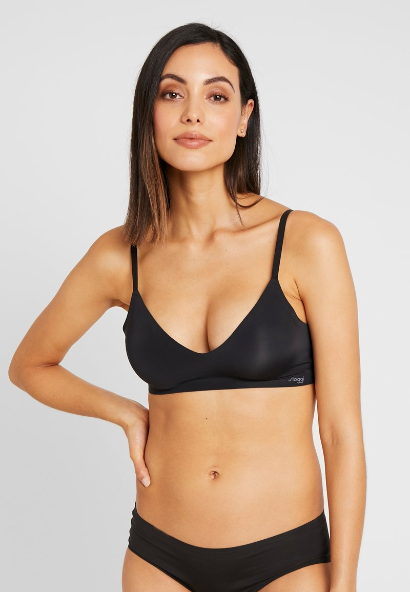 Sloggi - FEEL ULTRA BRA - Reggiseno a triangolo - black
