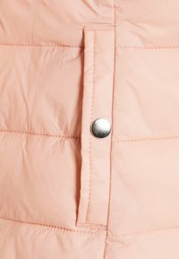 ONLY - ONLSANDIE QUILTED HOOD JACKET - Light jacket - misty rose - 6
