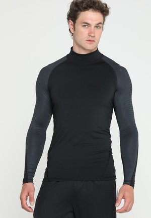 ALPHASKIN ANTI-ODOR FABRIC CLIMAWARM - Long sleeved top - black