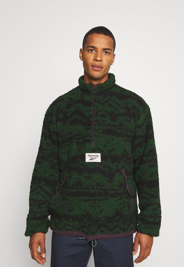 Fleece jumper - utility green
