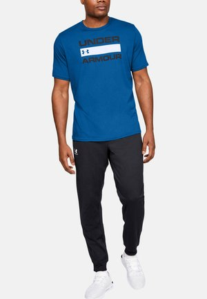 HEATGEAR - Print T-shirt - dark blue