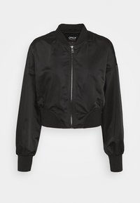 ONLY - ONLJACKIE CROPPED JACKET  - Bomber Jacket - black - 3