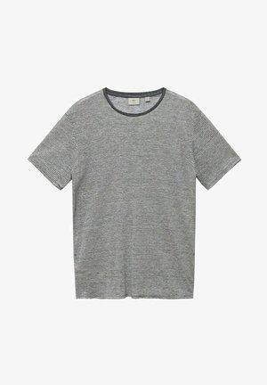 RAYURES - Printtipaita - gris chiné moyen