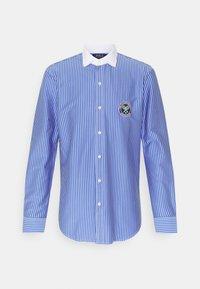Polo Ralph Lauren - INTERLOCK FULL ESTATE - Shirt - court blue/white - 6