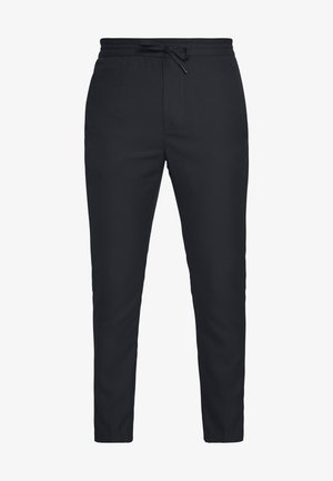 CALVIN - Trousers - black/blue